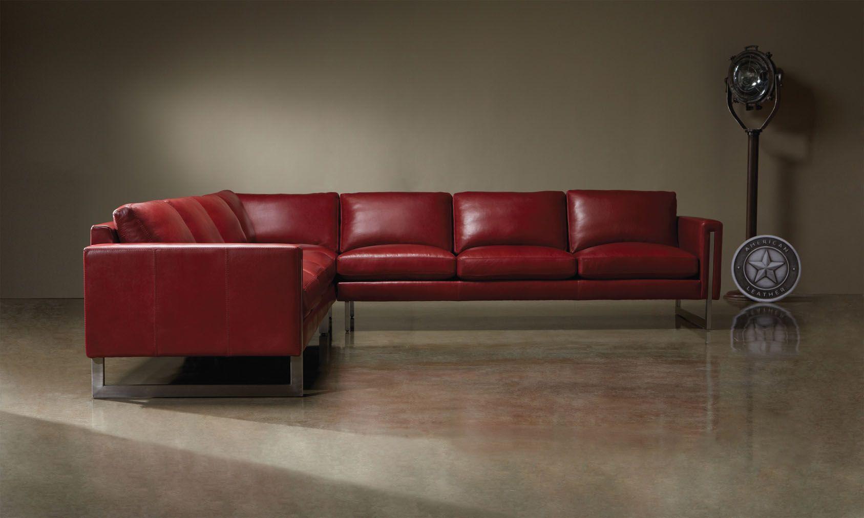 <img src=&quot;sectional.jpg&quot; alt=&quot;red leather sectional.&quot;>