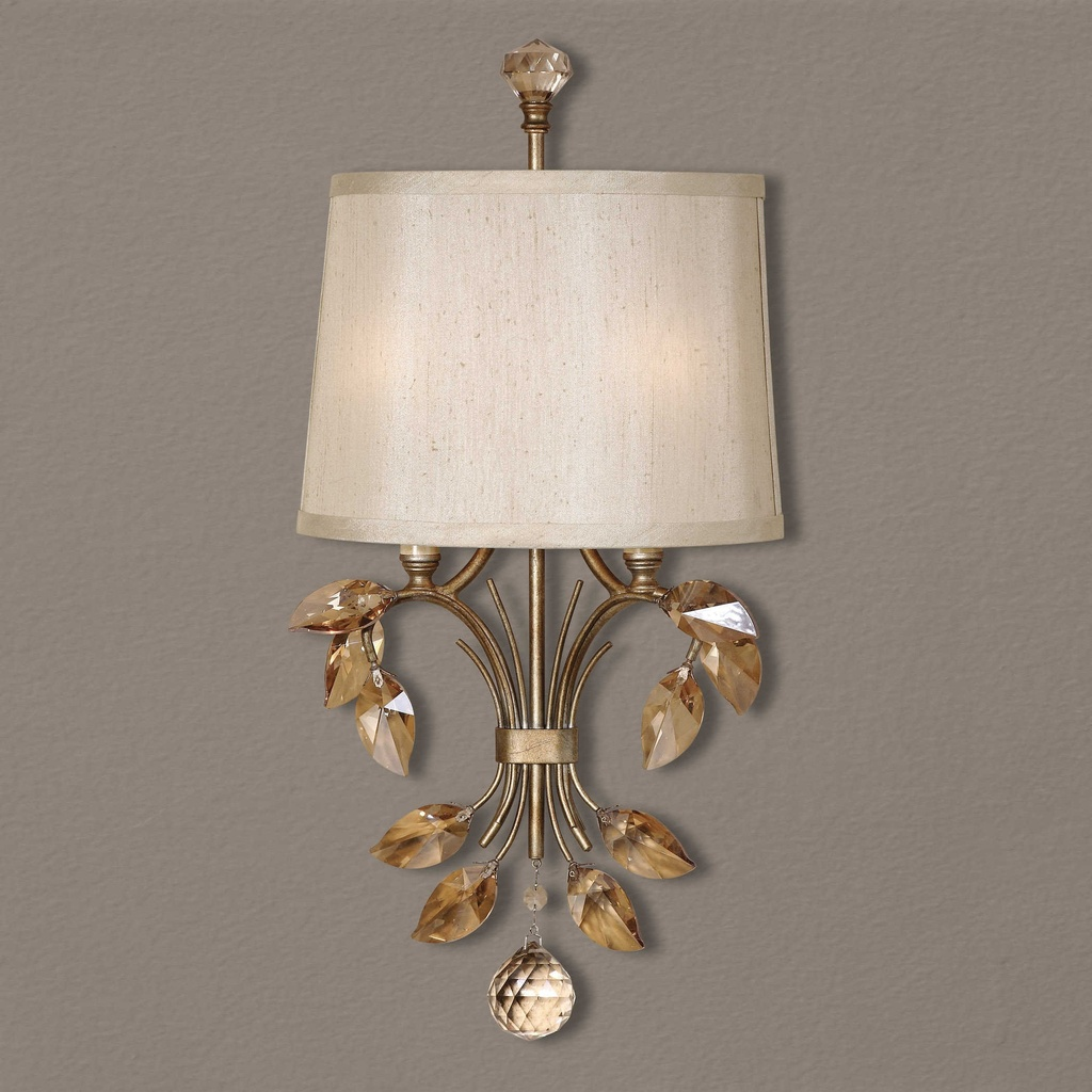 Alenya, Two Light Wall Sconce