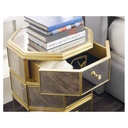 Bewitch Mirrored Nightstand