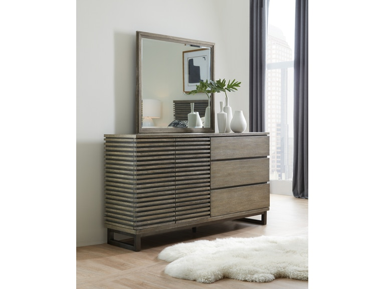Annex Two-Door Three-Drawer Dresser
