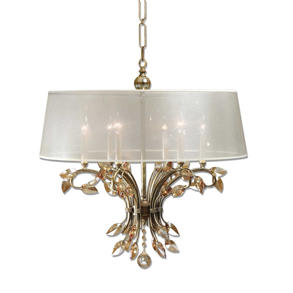 Alenya, Six Light Chandelier