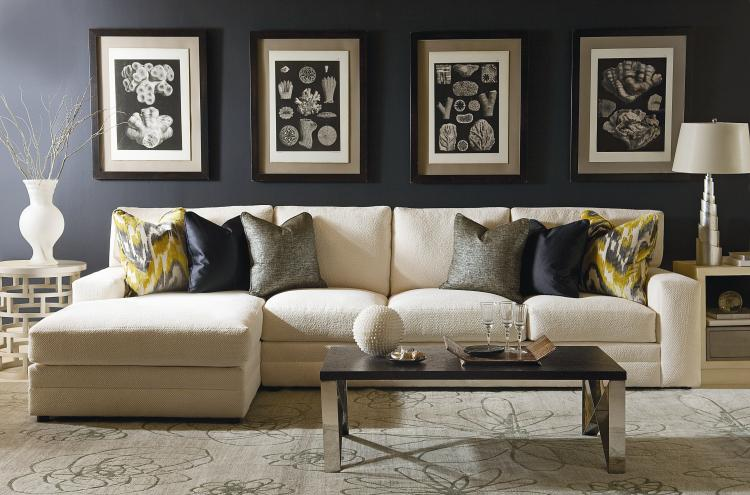 Cornerstone Two-Piece Sectional with Chaise