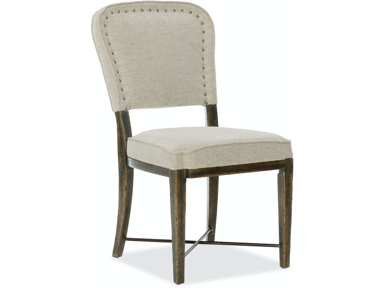 Crafted Upholstered Side Chair
