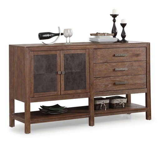 [MC-12390] Hampton Buffet with Shelving