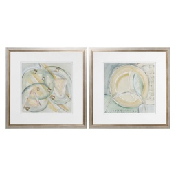 [MC-13827] Abstracts Framed Prints, S/2