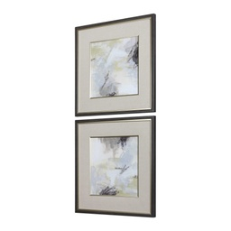[MC-18087] Abstract Vistas Framed Prints, S/2