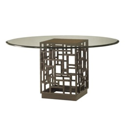 [DRBSE536875] South Sea Dining Table with 54 Inch Glass Top