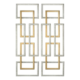 [MC-35354] Aerin Metal Wall Panels, S/2