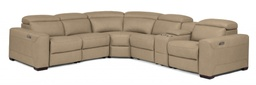 [UPSET1121/A] Lexon Power Reclining Sectional with Power Headrests