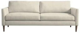 [UPSOFLLCS2PA] Personalize Soft Curve Arm-Studio Two Cushion Sofa
