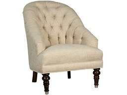 [UPCHR063010A] Tufted Accent Chair