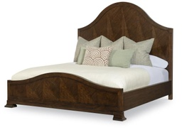 [BRBEDB1H147] Mcalpine Wood Panel Cal King Bed