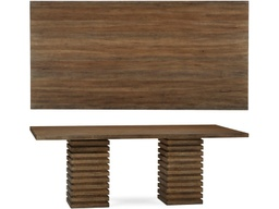 [DRTBL223221] Williamsburg Double Pedestal Dining Table