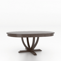 [DRTBL5454/B] Wood Top Table 5454