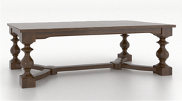 [DRTBL04892/A] Wood Top Table 4892