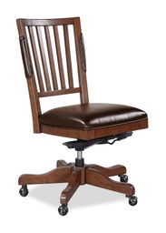 [LRCHRI07/A] Oxford Whiskey Brown Office Chair