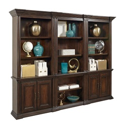 [LRBKSI91/B] Grand Classic Door Bookcase