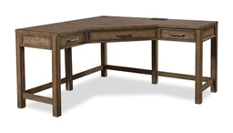 [LRDSKI221/A] Terrace Point Corner Desk with Hutch