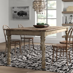 [DRTBL500-201] Wakefield Rectangle Leg Dining Table