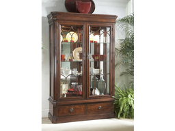[DRCAB920-990] Antebellum Display Cabinet