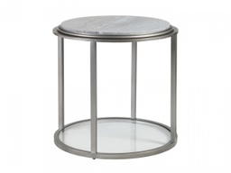 [LRTBL2174953] Treville Round End Table