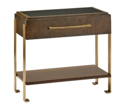 [BRNSTME12/A] Melody Bracketed Nightstand