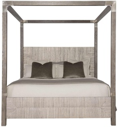 [BRBED369/A] Palma California King Canopy Bed