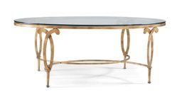 [LRTBLM6822] Oval Cocktail Table