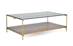 [LRTBL6600-72] Collins Rectangular Cocktail Table