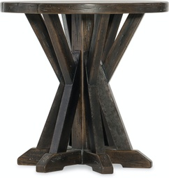 [LRTBL1618-15] Roslyn County Round Lamp Table