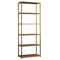 [LRBKS5398-43] Tall Metal Bookcase