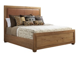 Antilles Upholstered Panel Bed King