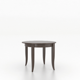 [DRTBL04242C] Core Wood Top Dining Table 4242