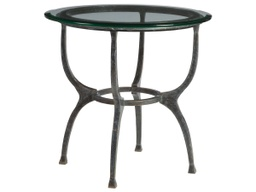 [LRTBL1495344] Patios Round End Table