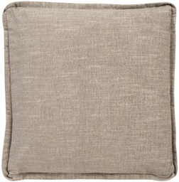 [152-20] 20 Inch Square Pillow - Weltless with Flange