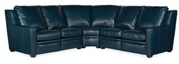 Sectionals 201 Raymond Reclining Sectional with One-Piece Back