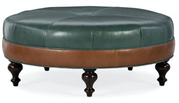 [806-RD] XL Well-Rounded Round Ottoman