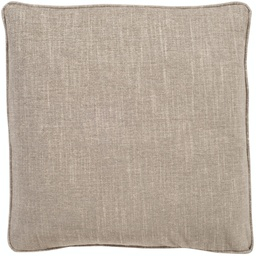 [150-20] 20 Inch Square Pillow - 20 Inch Pillow with Welt