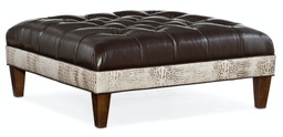XL Fair-N-Square Tufted Square Ottoman