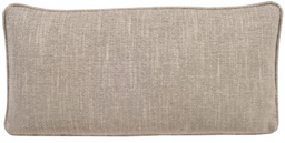 [153-10] 10 Inch x 20 Inch Rectangle Pillow with Welt