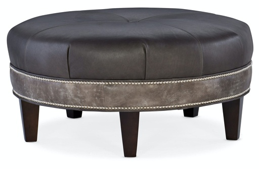 Well-Rounded Round Ottoman