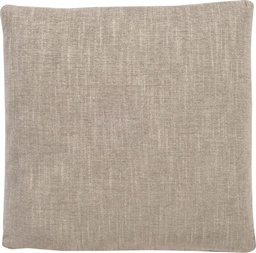 [151-22] 22 Inch Square Pillow - Weltless with Double Needle Stitching