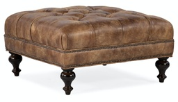 [805-SQ] Fair-N-Square Tufted Square Ottoman