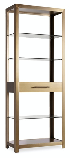 [1600-10445-MTL1] Curata Bunching Bookcase