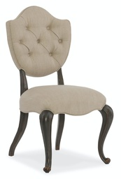 [1610-35002-GRY] Arabella Upholstered Side Chair