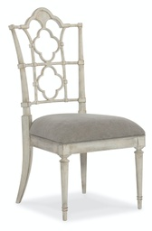 [1610-75510-WH] Arabella Side Dining Chair