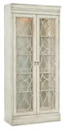 [1610-75906-WH] Arabella Bunching Display Cabinet