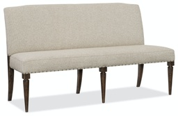[1618-75019-DKW] Roslyn County Upholstered Dining Bench