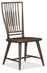 [1618-75310-DKW] Roslyn County Spindle Back Side Chair