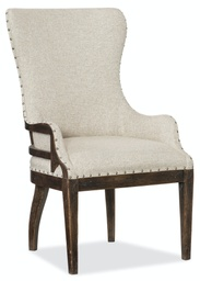 [1618-75500-DKW] Roslyn County Deconstructed Upholstered Host Chair